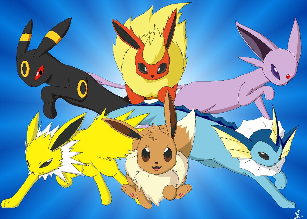 La famille evoli l page 2 - Famille evoli pokemon ...