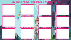 My Little Pony Controversy Meme Blank