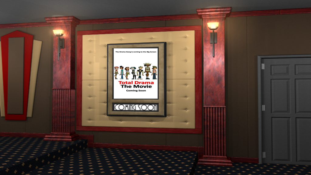 TDTM Teaser Poster At The Movie Theater By DEEcat98