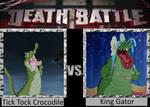 Death Battle - Tick Tock Crocodile vs King Gator