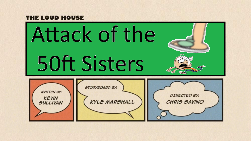 Tlh Attack Of The 50ft Sisters Title Card By Deecat98 On