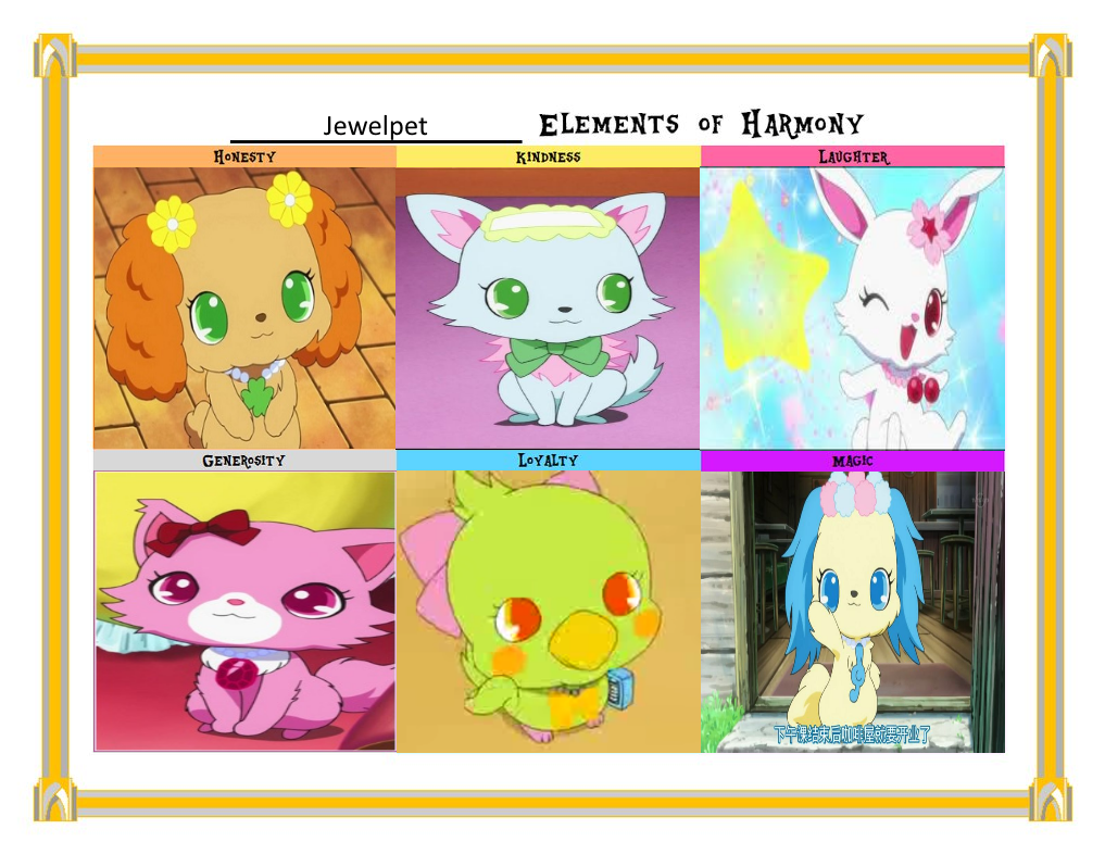 Jewel pet elements of harmony by deecat98 on deviantart - Jewelpet prase ...