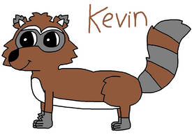 Kevin the Raccoon by DEEcat98