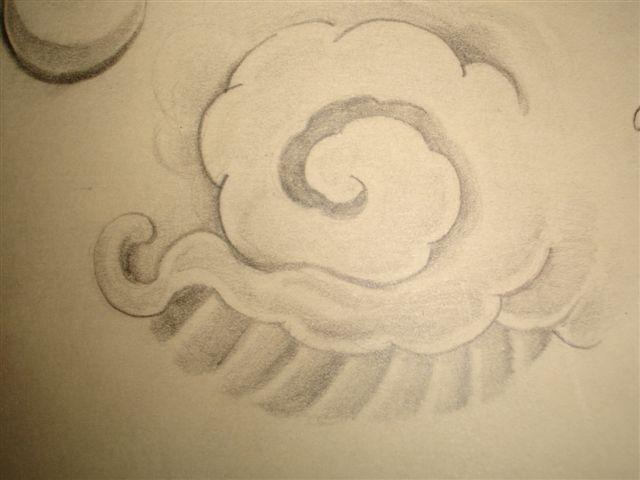 Asian cloud by chicanochop on deviantart for Chinese clouds tattoos
