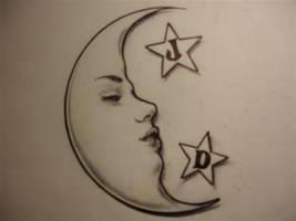 Moon n Stars by CHICANOCHOP