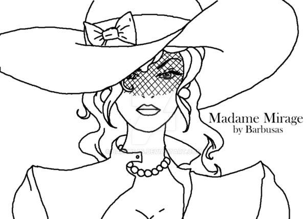 MadameMirage by Barbusas