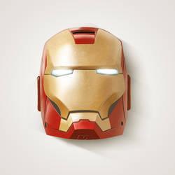IronMan Mask by Ceruleano