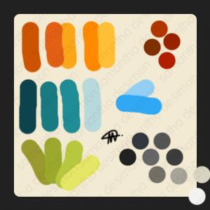 Color Palette 'Bacteria' by samantha-d
