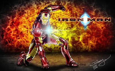 Iron Man Poster by Zoso1024