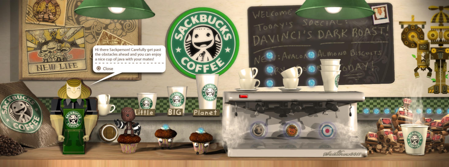 Sackbucks Coffee Level by Zoso1024