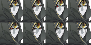 Phantom Final face look