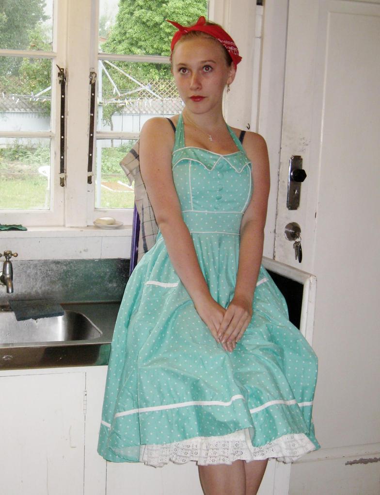 50\'s dress up - kitchen#2 by Manzie13 on DeviantArt