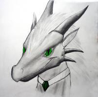 Crominum Vaikarin Dragon sketch