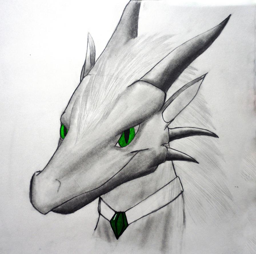 Crominum Vaikarin Dragon sketch by Nightfury-Treann