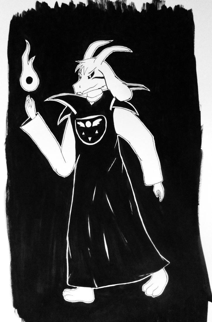 Asriel Dreemurr by Nightfury-Treann