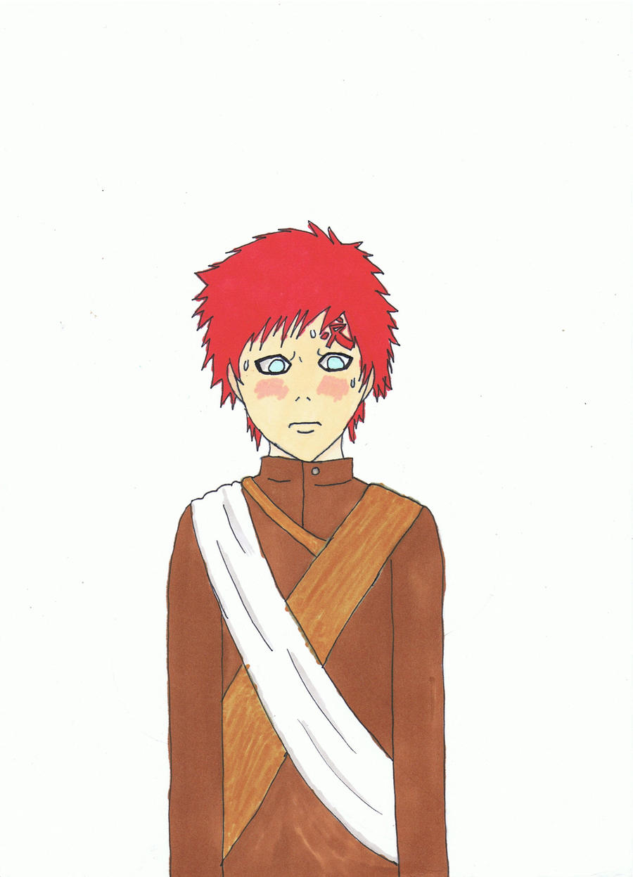 Gaara blush by xiximagicramen on deviantART Gaara Blushes Episode