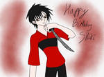 Happy birthday shiki by xiximagicramen