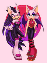 Milena and Rouge
