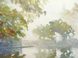 Quiet Corner, Rainy Day by litka