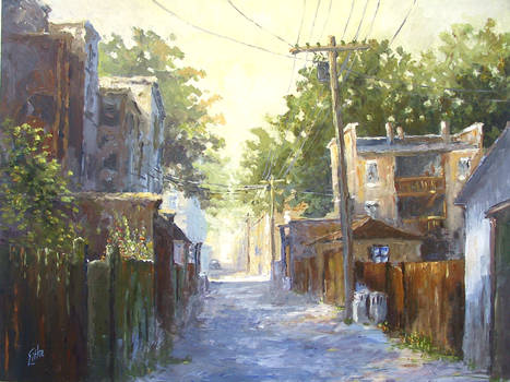 Morning in the Alley