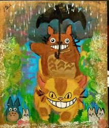 Totoro!  by FAUMoonMoon