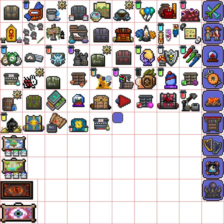 Ps3 theme 001 Terraria Tiles by Vaultapple on DeviantArt