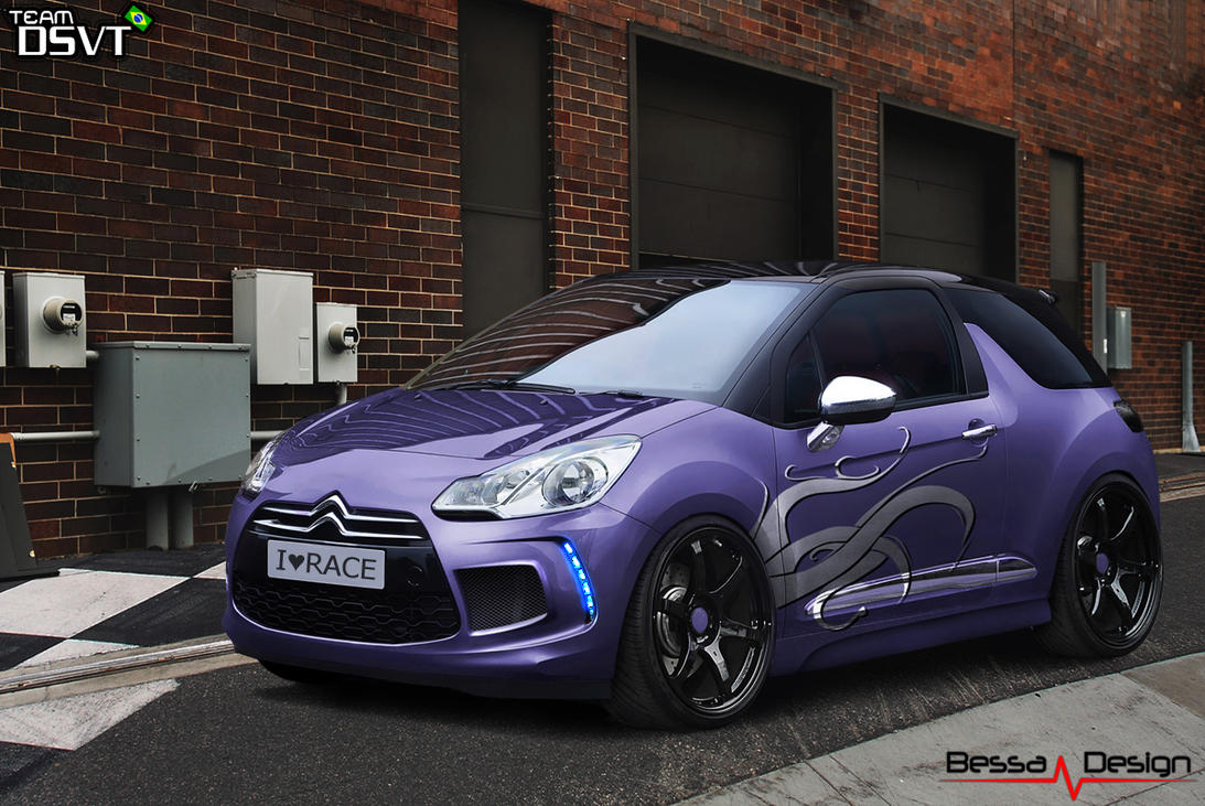 citroen ds3 bessa design by jeeanb on deviantart