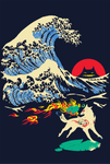 The Great Wave off Oni Island