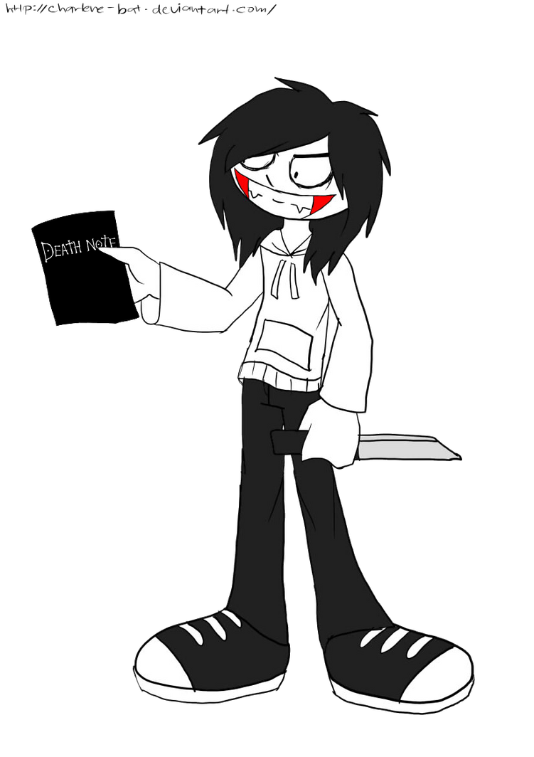 Jeff with a Death Note by xXCharleneBrendsxX