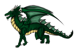 Dragon colored