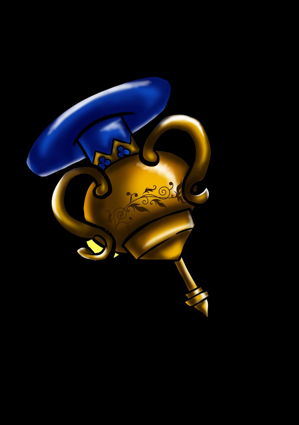 Treasure lamp