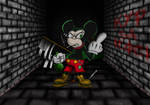 Mickey Mouse gone bad