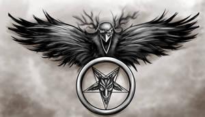 Baphomet Raven