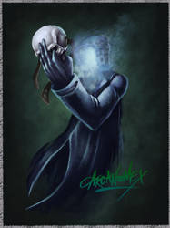 The mask of the Grim Reaper by arcanumex