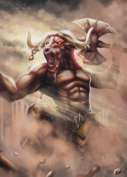 The Bull of Minos (Minotaur)