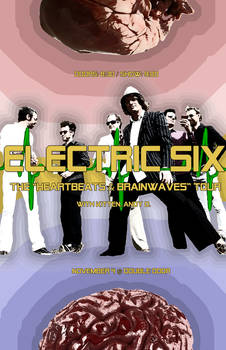 Electric Six Tour Poster