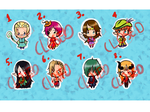 (OPEN)Tell your price Fantasy  Mini Adopts by Natseiadopts