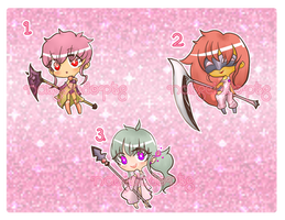 [CLOSED] Warrior Magical Girls by Natseiadopts
