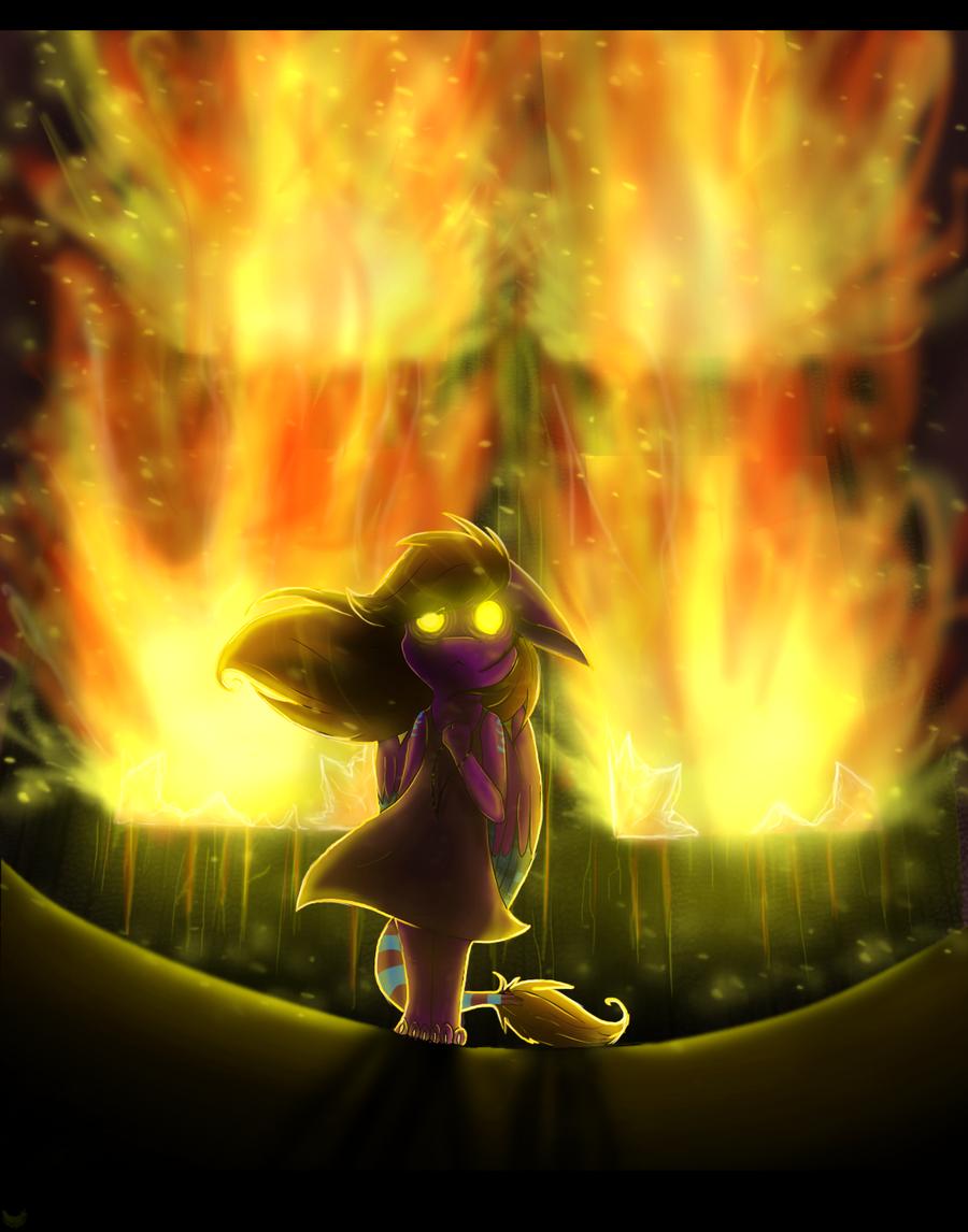 the fire of revenge by Anais-thunder-pen