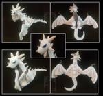 Dragon Wyverne big plush by Anais-thunder-pen