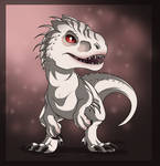 Chibi indominus by Anais-thunder-pen