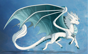 Frostbite the dragon by Anais-thunder-pen