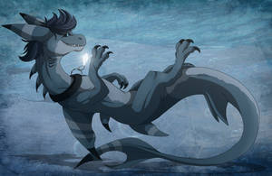 Boby the dragon by Anais-thunder-pen