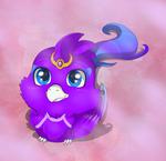 Purple cute by Anais-thunder-pen