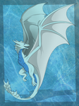 Snow the dragoness