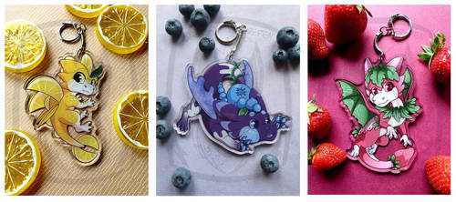 Dragon fruit set