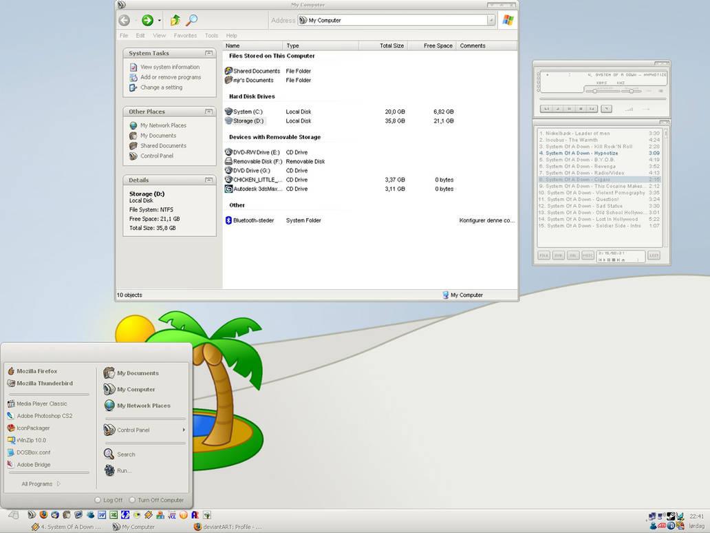 My desktop v1 by rostock