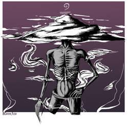 DAY#2 INKTOBER: Mindless