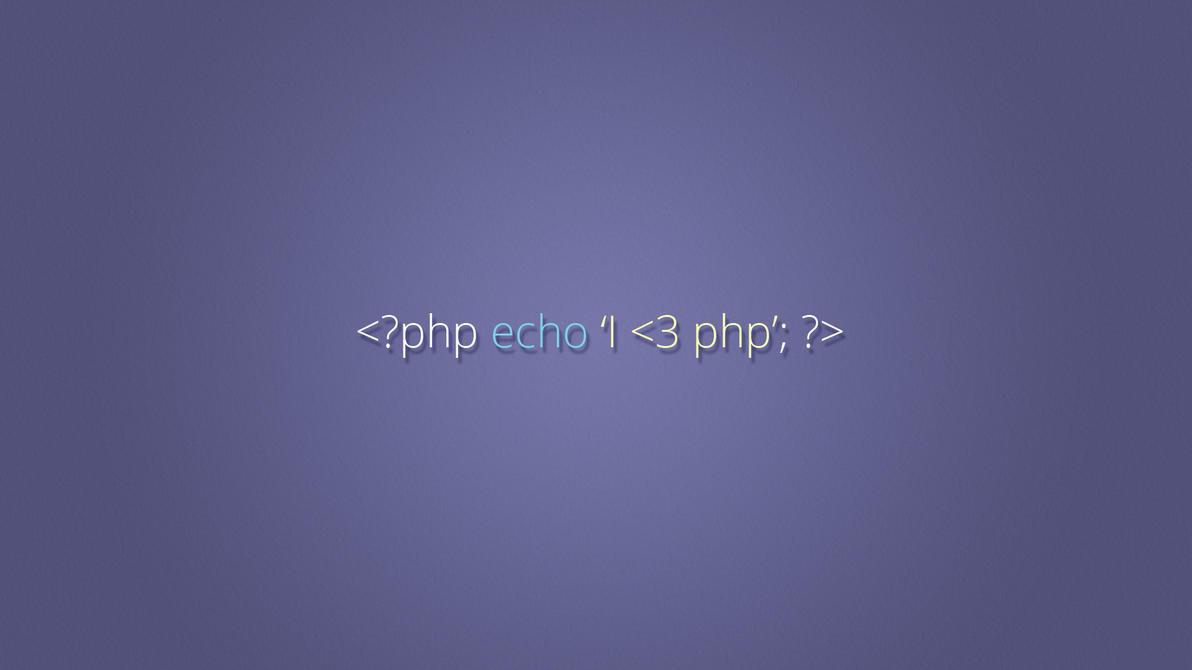 I less than three php by Headquake