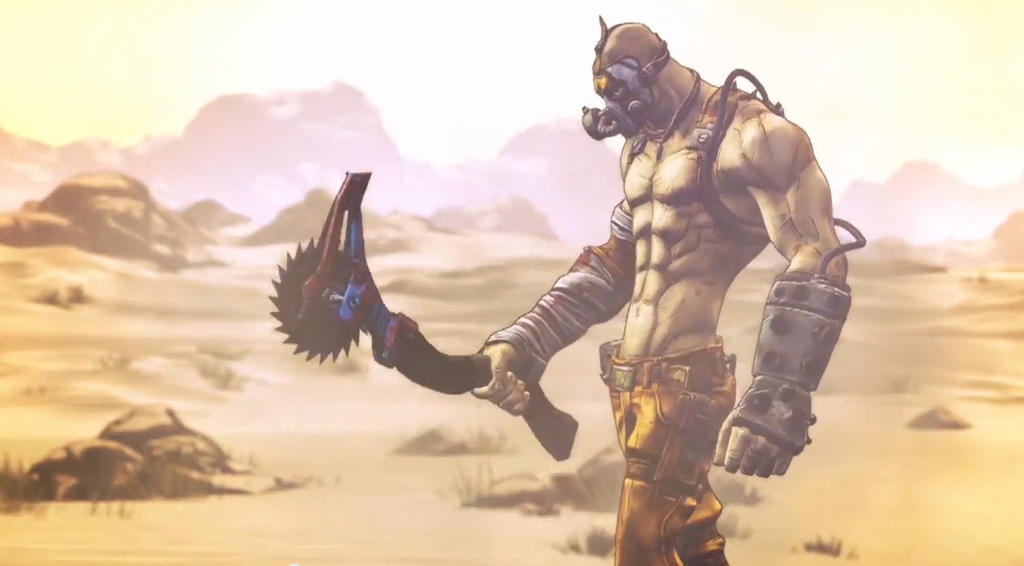 Just Me And My Axe Krieg Borderlands 2 By Bioclay88 On